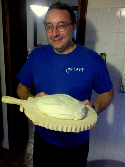 Max with a prefect polenta
