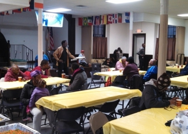 Bridging the Gap Ministries provided a hearty helping of spiritual support