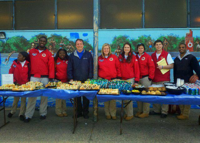 We provided lunch for 80 volunteers who, along with City Year, cleaned up Smith Park in South Philadelphia