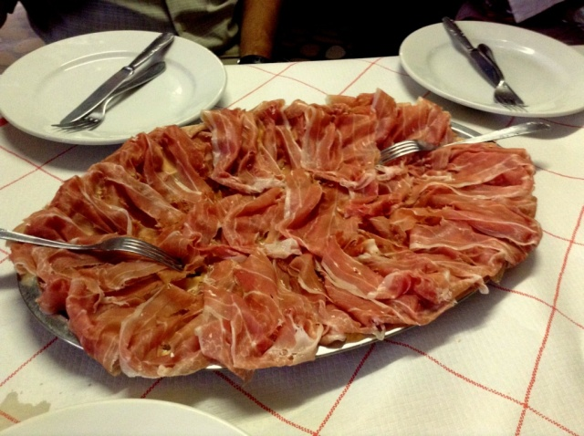 Proscuitto from San Danielle