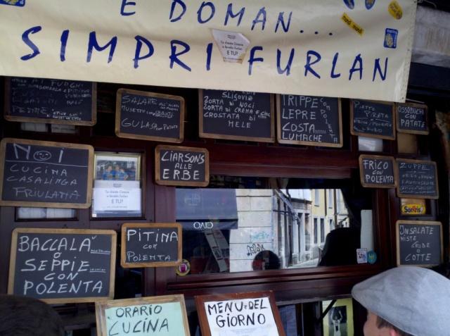 Classic Friulano Dishes