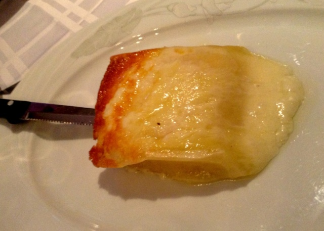 Frico – Pan Fried Montasio Cheese