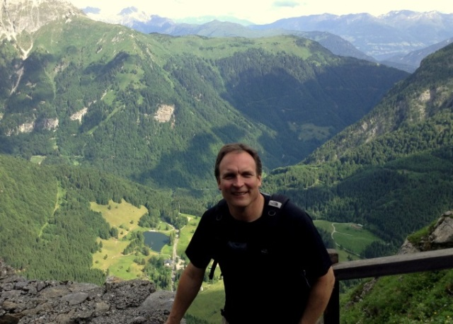 Hiking to Pal Piccolo – Austria in background