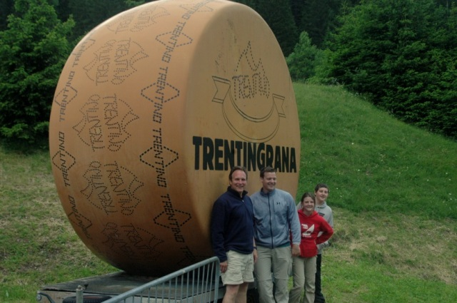 Finding Grana Trentino